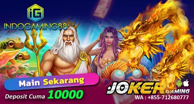 Deposit Joker123 Slot Online Pulsa 10Rb