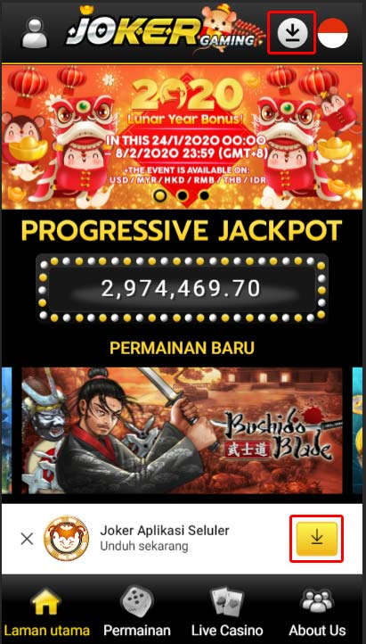 Download Aplikasi Joker123 Android Terbaru