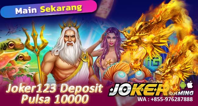 Deposit Slot Pulsa 10rb