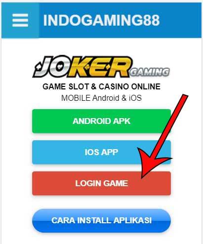 Login Joker3888