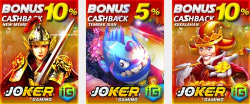 Joker123 Bonus